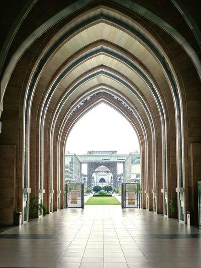 The Architect - 2017 EyeEm Awards Arch Architecture Travel Destinations Mosque Putrajaya,malaysia