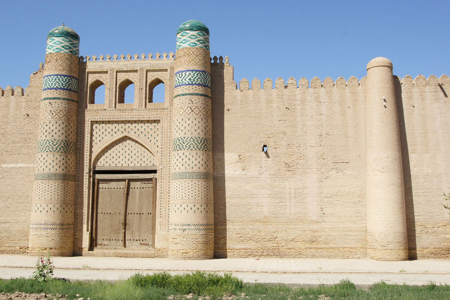 Khiva, Uzbekistan Architecture ASIA Building Building Exterior Built Structure Central Asia City Day Famous Place Khiva Middle East No People Outdoors Sights Sightseeing Silk Road Tourism Tourist Attraction  Town Travel Travel Destinations Urban Uzbekistan