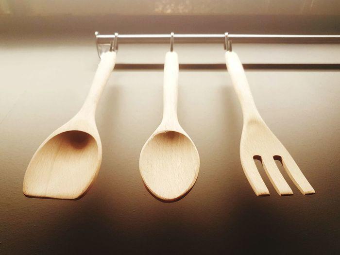 Close-up of utensils