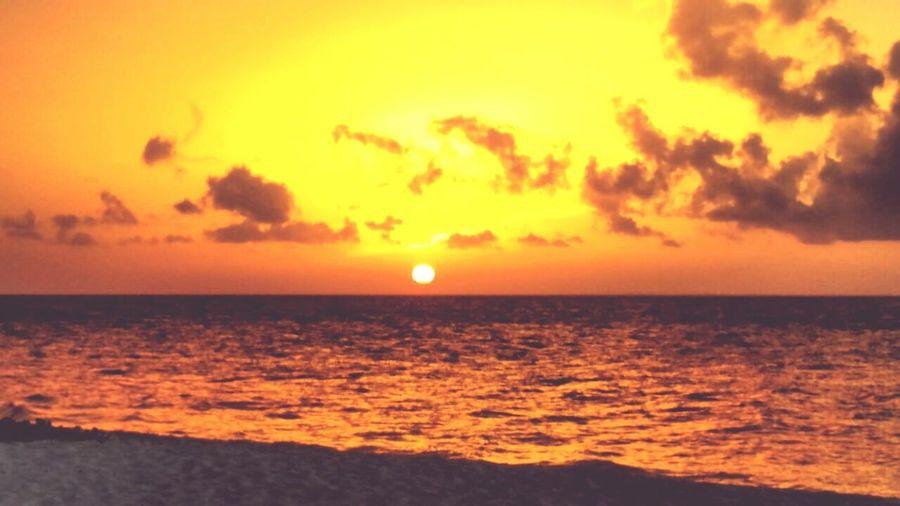 Sunset In Cozumel Cozumel Paradise