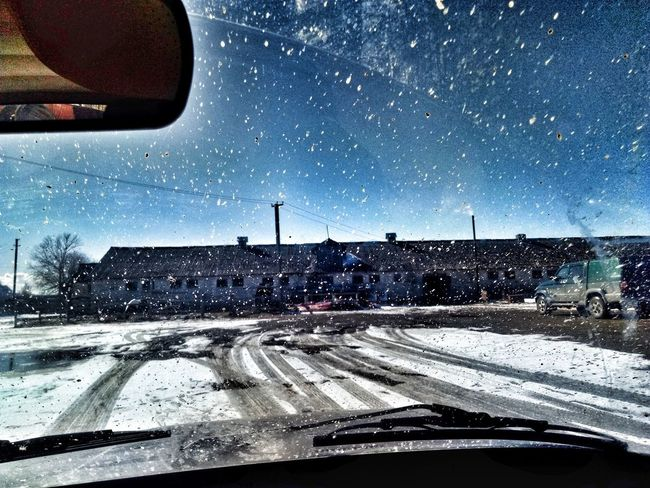 Car Transportation Star - Space Mode Of Transport Land Vehicle Sky Snow Nature Cold Temperature Day