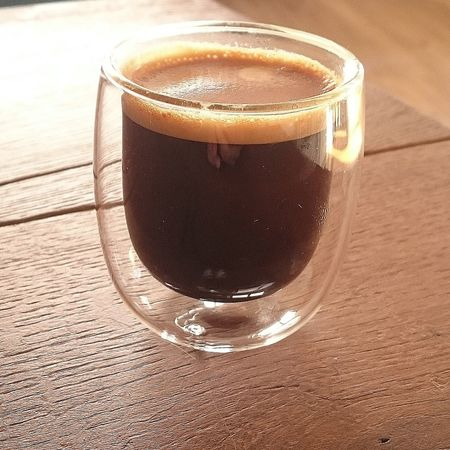 Espresso❤ Table Drink Drinking Glass Indoors  Coffee - Drink Freshness
