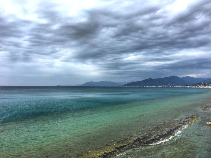 Seascape Photography Seascape Cloud - Sky Water Sky Sea Beauty In Nature Scenics - Nature Beach Non-urban Scene Travel Destinations Idyllic Tranquil Scene Outdoors Nature Turquoise Colored