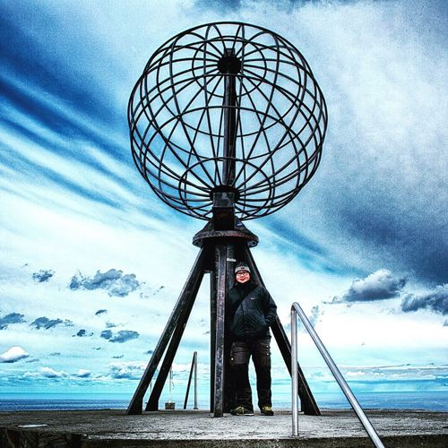 Mission accomplished. Nordkapp Norge Norwegen The Globe First Eyeem Photo