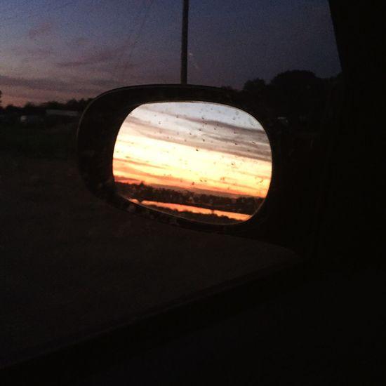 The Drive Sunset #sun #clouds #skylovers #sky #nature #beautifulinnature #naturalbeauty #photography #landscape Sunset
