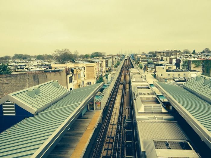 blue line el west philly Elevated Train subway Philadelphia gritty Beautiful grimy