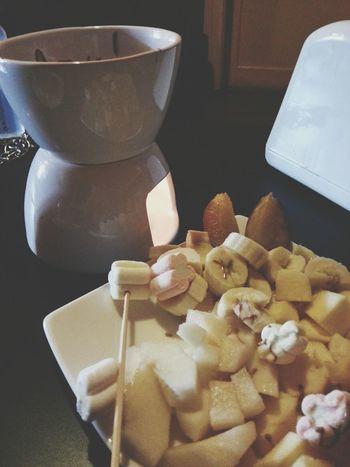 snack Fondue Food Chocolate