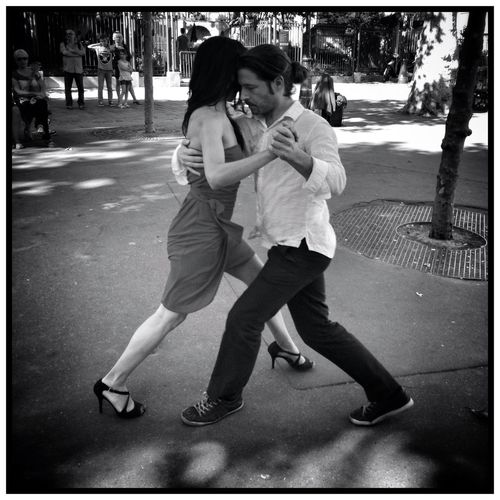 Paris Tango... EE_Daily: Black And White Eye4thestreets Tango EyeEm Best Shots