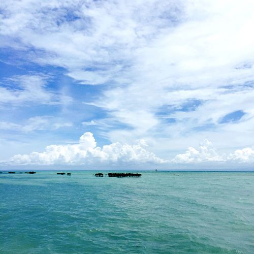 👒⛵️🏝🌞 Lakawonisland Thephilippines Beauty In Nature Landscape No People Outdoors Journey Cloud - Sky Sky Seascape Blue Horizon Over Water Water