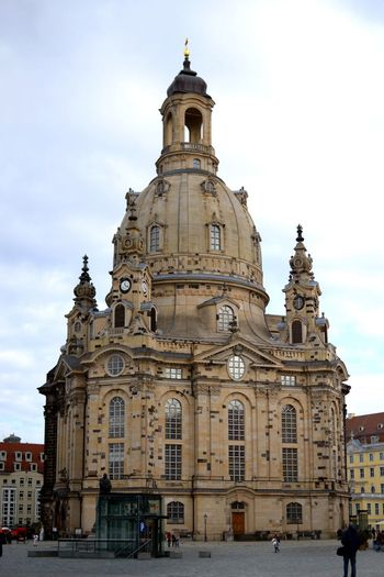 Showcase: February History Historical Building Dresden EyeEm Gallery Cityscapes Church Architectural Detail Architecture_collection Architecture EyeEm Frauenkirche Kirche