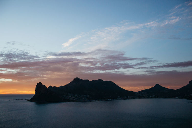 The Sentinel Sunsets. One of Hout Bay's treasures. These were taken last night right after a brief, smokey fire ocurred in the valley. There was also a power-outage which made things very quiet in the valley below. Late March, 2019. Sky Cloud - Sky Sunset Beauty In Nature Scenics - Nature Sea Water Nature No People Tranquility Idyllic Outdoors Tranquil Scene Mountain Non-urban Scene Silhouette Dusk Jonnynichayes Cape Town South Africa Hout Bay Sentinel My Best Photo Adventure Explore Wanderlust Popular Photos Beauty In Nature Wonderful Wonder Clouds And Sky Landscape Landscape_Collection Landscape_photography Sky And Clouds