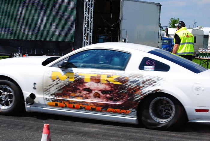 Fire it up! Quartermile HotWheelz Hildesheim Hannover Dragracing Musclecar Mustang EyeEm Best Shots EyeEmNewHere Newoneyeem Adult Car Crowd Spectator Outdoors Wrench  Tires