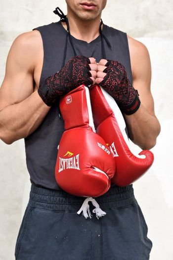 Photography Natural Light Boxer Photo Model Male Boxing Everlast