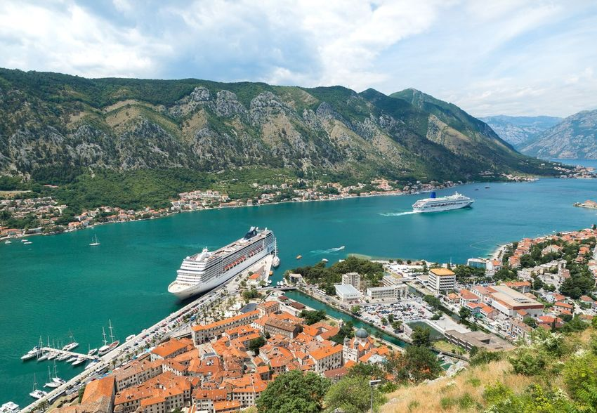 Bay Of Kotor Billionaire  Luxury Yacht Boat Building Exterior Built Structure Day High Angle View Kotor Luxury Luxury Yachts Mode Of Transport Montenegro Moored Mountain Nature Nautical Vessel Outdoors Scenics Sea Sky Tranquility Transportation Tree Water