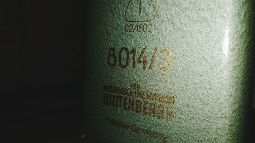 Made in Germany Made In Germany Germany EyeEm Selects 3XSPUnity 3XSPhotographyUnity Text Close-up Indoors  No People Textured  Day