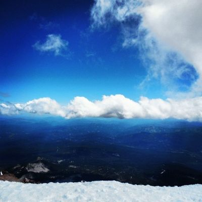 Up in the clouds on Mtshasta MCM