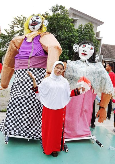 Mymom Independence Day Ondel-ondel Betawi Culture Indonesiaculture  One Person Beautymom Beautymoment EyeEmNewHere