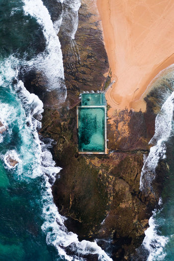 Water Solid Rock Rock - Object Day Beauty In Nature Nature Rock Formation No People Waterfall Motion Scenics - Nature Mountain Architecture Outdoors Flowing Water Sea Built Structure Flowing Formation Sydney Australia Ocean Waves And Rocks Crashing