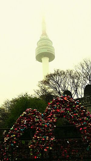 💑Lovers Hang Keychains 💑Namsan Tower  In Seoul