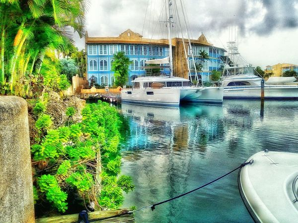 Boats⛵️ Boats And Water Boats And Moorings Water Reflections Water_collection Waterfront Man Made Structure Man Made Beauty Marina Luxurylifestyle  Fine Art Photography Barbados 2016 Natural Beauty Man Made Object