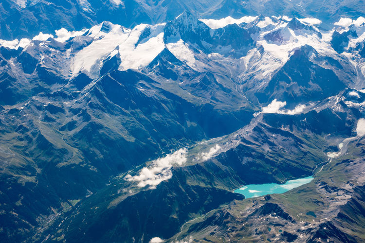 Areial view Lac de Moiry - Switzerland Beauty In Nature Mountain Scenics - Nature Mountain Range Environment Nature Landscape Physical Geography Tranquil Scene Cold Temperature No People Snow Tranquility Aerial View Idyllic Non-urban Scene Day Winter Outdoors Snowcapped Mountain Mountain Peak Mountain Ridge Lac De Moiry Switzerland