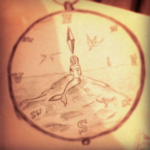 Denizkizi Dovme çizim Gecmis