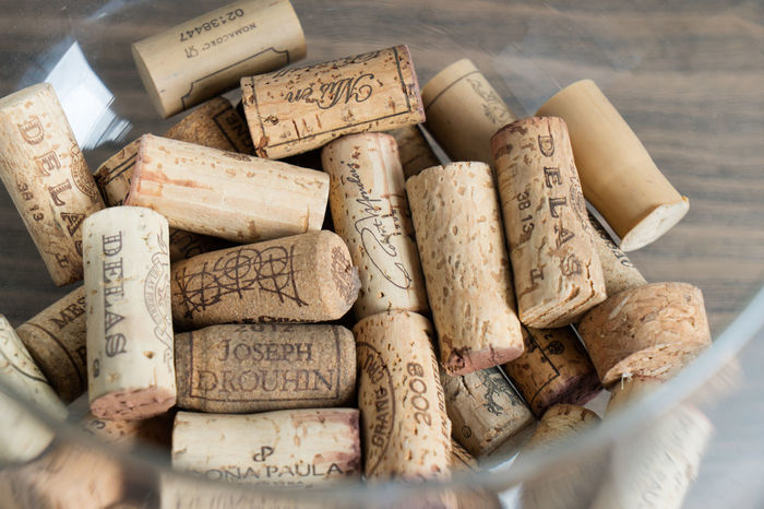 Alcohol Close-up Cork - Stopper Day Food And Drink High Angle View Indoors  No People Textured  White Background Wine Wine Cork