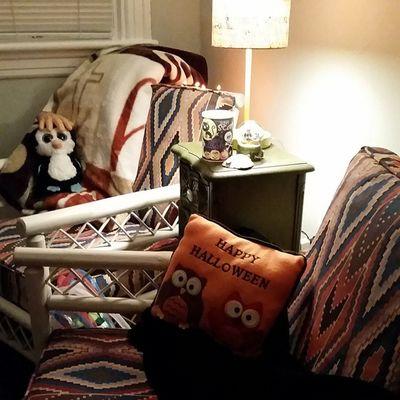 Nofilter my 1st Halloween !! AllMine Ilovefall fall boo penguins dogtoys comfyblanket orangeandblack hurricaneseason