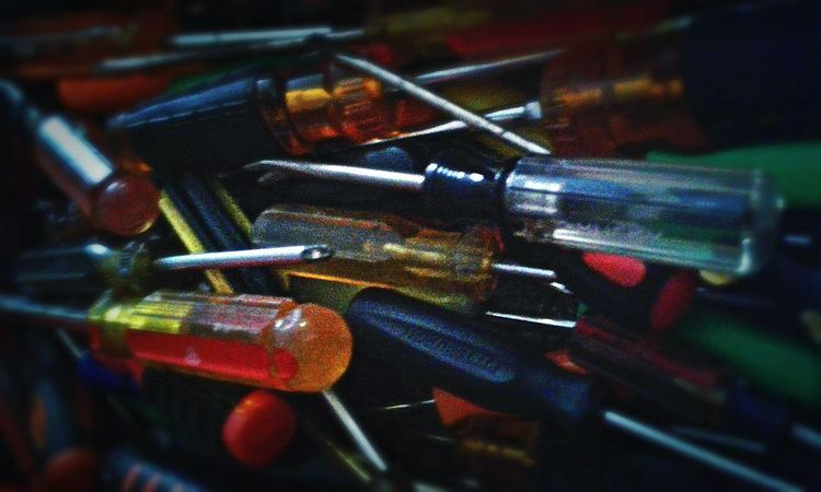 Toolbox Picoftheday Foto Fotografia Picture Construction Mechanic Garage Studio Garageart Screwdriver Art And Craft Deconstruction