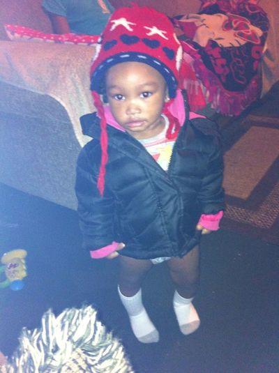Jada Love Wearing Her Jacket Around The House Lol