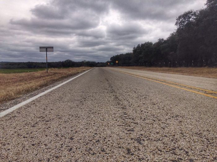 Road The Way Forward Sky Diminishing Perspective Cloud - Sky Transportation Day No People Empty Outdoors