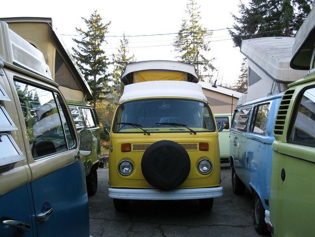 VW VW Bus Bay Window Riviera Van Life Volkswagen Westfalia Yellow