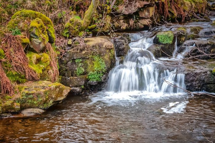 Waterfall in Wycoller. Colne, Lancashire, United Kingdom. Water Waterfall Walking Countryside Nature Landscape Long Exposure Streamzoofamily TheVille Naturelover