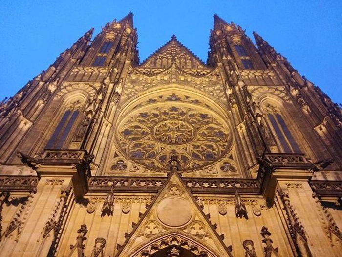 Churches here are massive! Prague