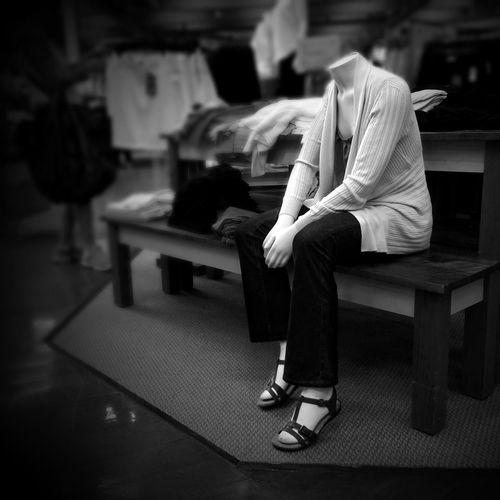 When shopping, mind your head... AMPt_community Shootermag Blackandwhite EyeEm Bnw