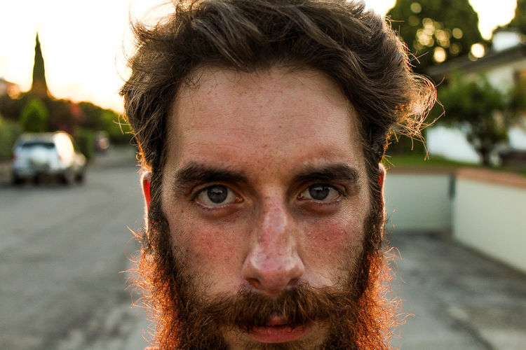 Beard Day One Person Outdoors Real People EyeEm Selects Fresh On Market 2017
