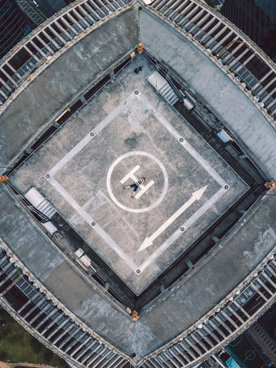 DJI Mavic Pro Shanghai, China Architecture Built Structure D Ji Day High Angle View Outdoors