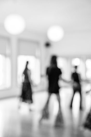 Nia Out Of Focus Group Of People Adult Women Indoors  Walking Real People Defocused Blurred Motion Incidental People People Lifestyles Architecture Motion Full Length Standing Leisure Activity