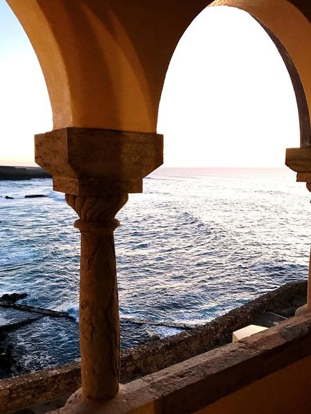 Guanilho Guanilho Duarte Guanilho Arch Architecture Water Sea Built Structure Day Architectural Column History No People Sunlight Horizon Over Water Indoors  Nature