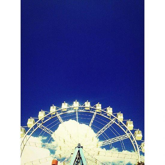 Hopi Hopihari Roda RodaGigante gigante ceu sky blue azul nuvem