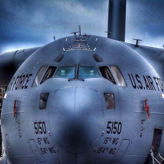C17 Globemaster Ndr_professional Hdr_instagram YokotaAirBase USAF