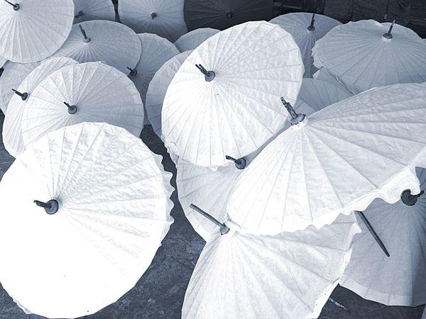 Paper Wood Umbrella Village Handicraft Handmade Blackandwhite Blackandwhite Photography Monochrome Shades Of Grey We ❤️ Thailand Hello World Eye Em Around The World Travel Photography Learn & Shoot: Simplicity