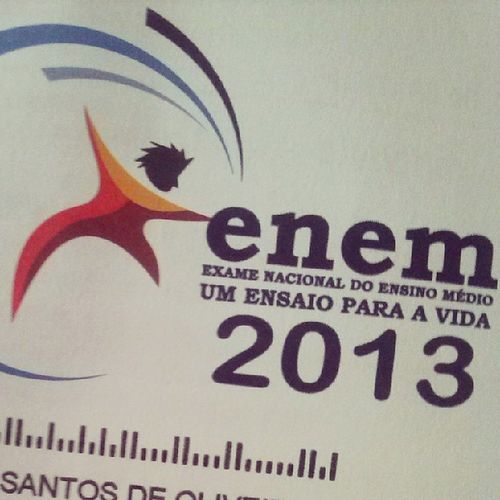 Here we go again Enem