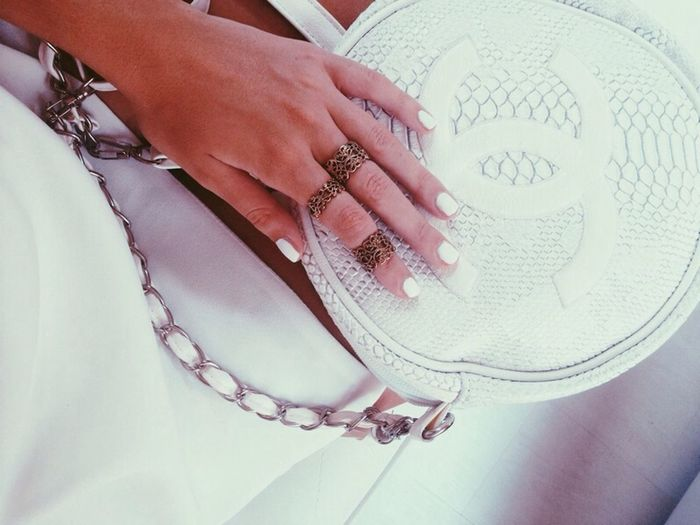 Chanel Inspired Fashion ALL WHITE EVERYTHING