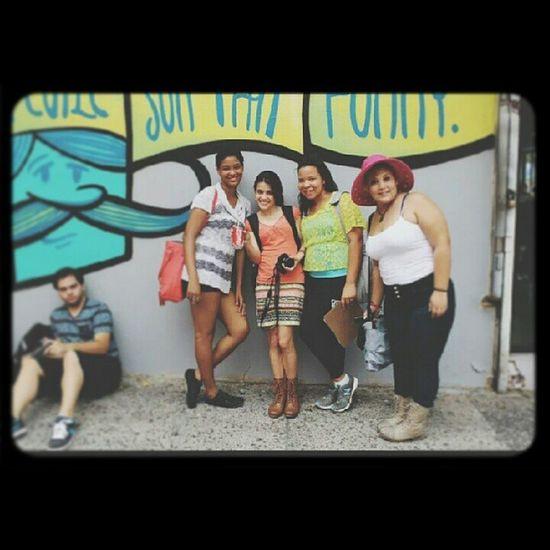 @poteleche mural at Losmuroshablan 2013 Puertorico Riopiedras Pantone Colors By GIZMON