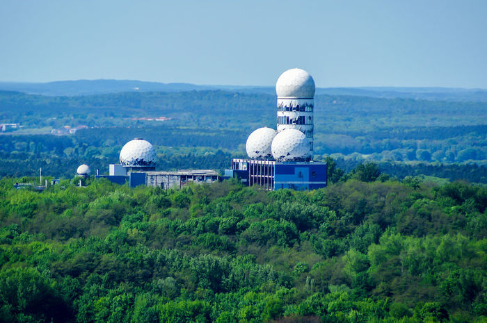 Abandoned Abandoned Places Architecture Day Devils Hill Dome Grunewald Horizontal No People NSA NSA Station Berlin Outdoors Place Of Worship Radar Station Sky Teufelsberg Teufelsberg Berlin Travel Travel Destinations