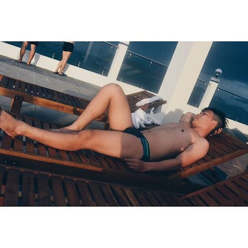 Vietnamese Vietguy Asianboy Asianmen saigonese asianguy menwear tanning nhatrangbeach pool rooftop