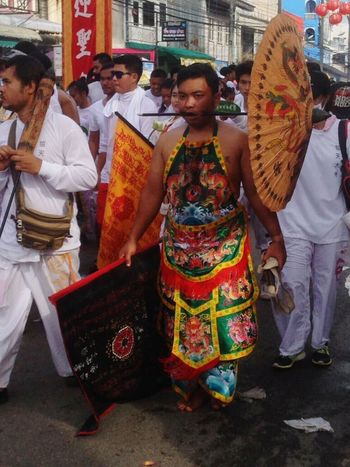 Festival YomKippur Tradition Attraction Shape God Believe Respect Eat Vegetable Wearwhite Wear White Ourdoor Phuket Thailand The Great Outdoors - 2017 EyeEm Awards EyeEmNewHere