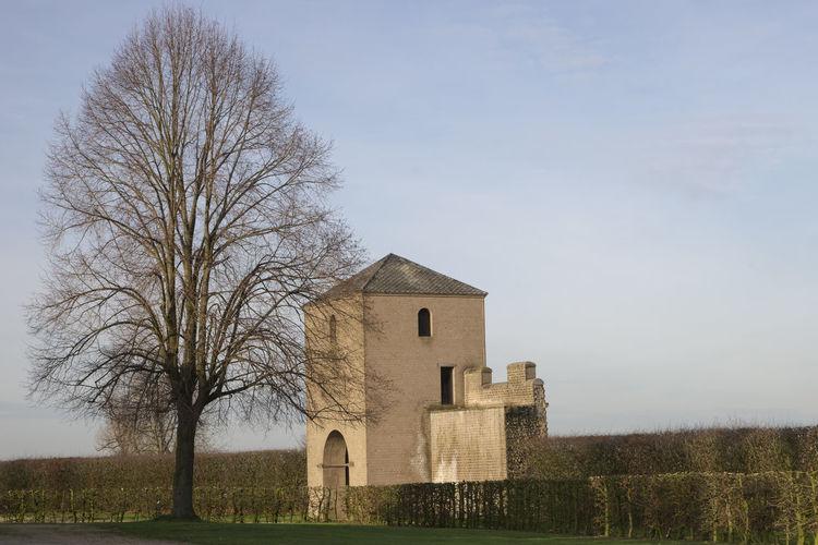 Römisches Tor Antike Architecture Germania History Rome Tower Tree Xanten