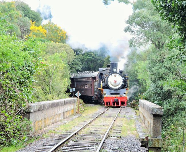 Maria fumaça Baragem De Garibaldi Rio Grande Do Sul Mariafumaça Locomotive Train
